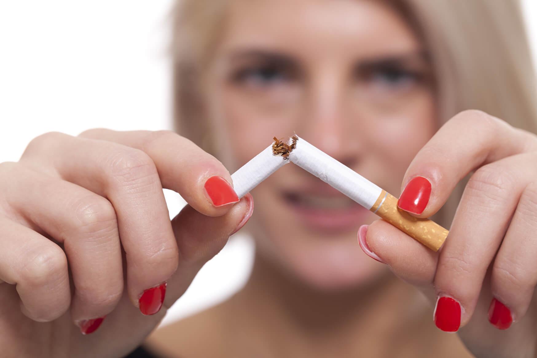 Mit Rauchen aufhören